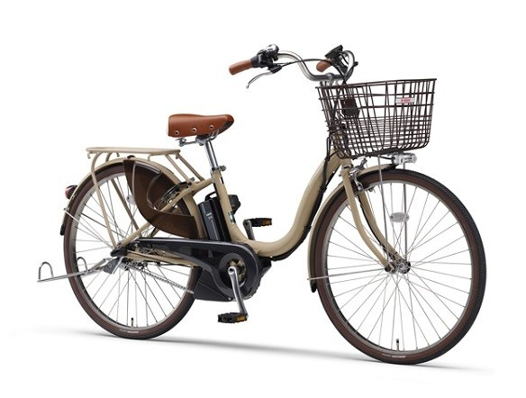 電動アシスト自転車「PAS」17年モデル 容量アップしたバッテリー&液晶5ファンクションメーター