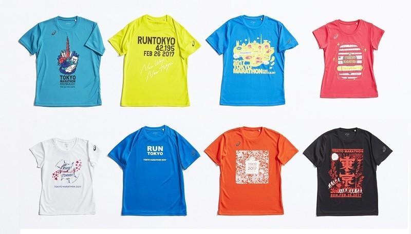 アシックスジャパン、東京マラソン2017開催記念!オリジナルTシャツ先行発売