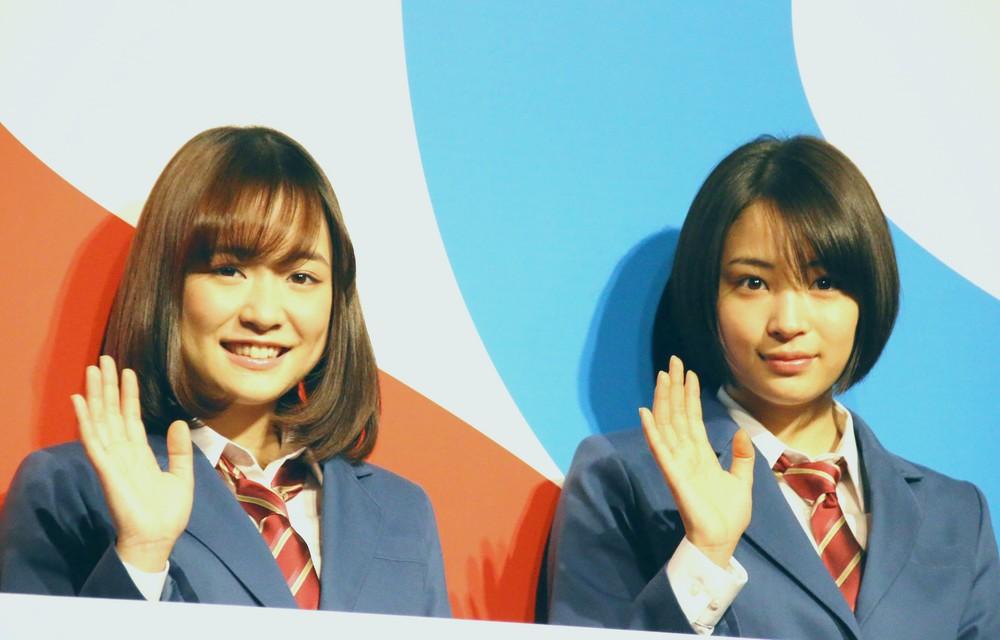 広瀬すず&大原櫻子、J.ビーバーがCM共演 「Sakurako、素晴らしい!Suzu、とてもキュート!」