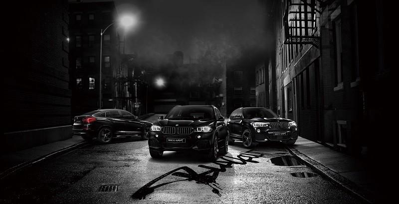 BMW「X3」「X4」「X5」の特別限定モデル「BLACKOUT」