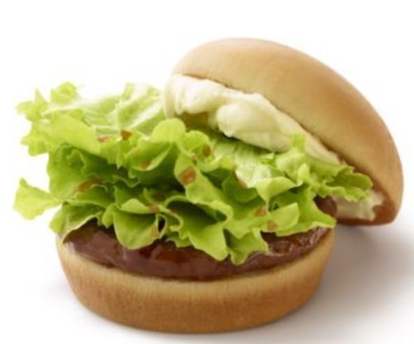 モス「クリームチーズテリヤキバーガー」3 月 28 日から5 月下旬まで期間限定で