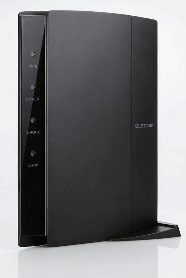 3人家族全員がスマホやテレビでネットを同時使用しても快適通信...エレコムの無線LANルーター