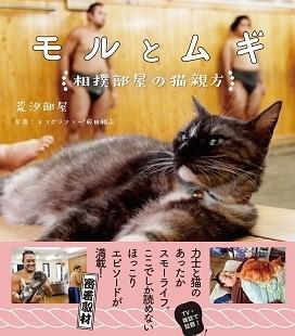 『モルとムギ 相撲部屋の猫親方』(著・荒汐部屋、前田悟志、河出書房新社)