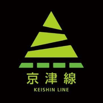 新たに導入される京津線の路線識別マーク