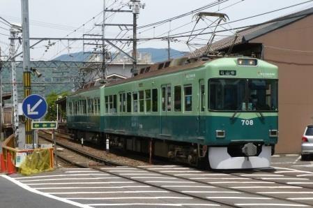 石山坂本線を走る700形