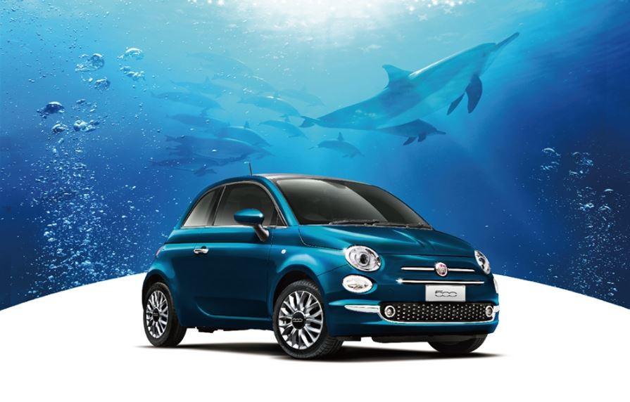 限定車「フィアット500 MareBlu」、車名は青い海のイタリア語