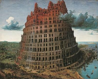 ピーテル・ブリューゲル1世「バベルの塔」1568年頃©Museum BVB, Rotterdam, the Netherlands