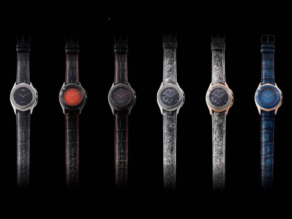 外観はアナログ、中身はスマート 腕時計「ヴェルト ラクスチュア」予約受付開始