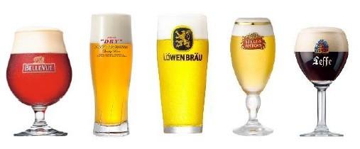 ビールラインナップは豊富