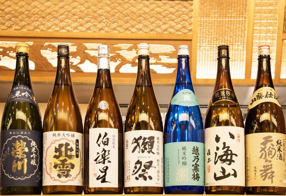日本酒をリーズナブルな価格で提供