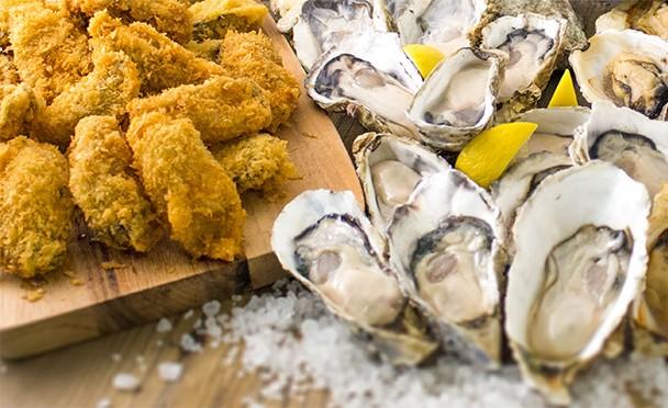 生牡蠣、カキフライ、焼きガキが食べ放題! 「岩牡蠣」も特別に1ピースサービス