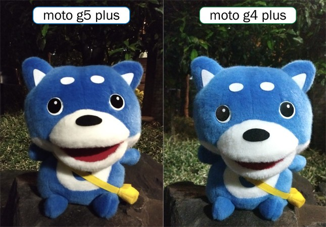 カメラ機能比較その3「夜の人形」