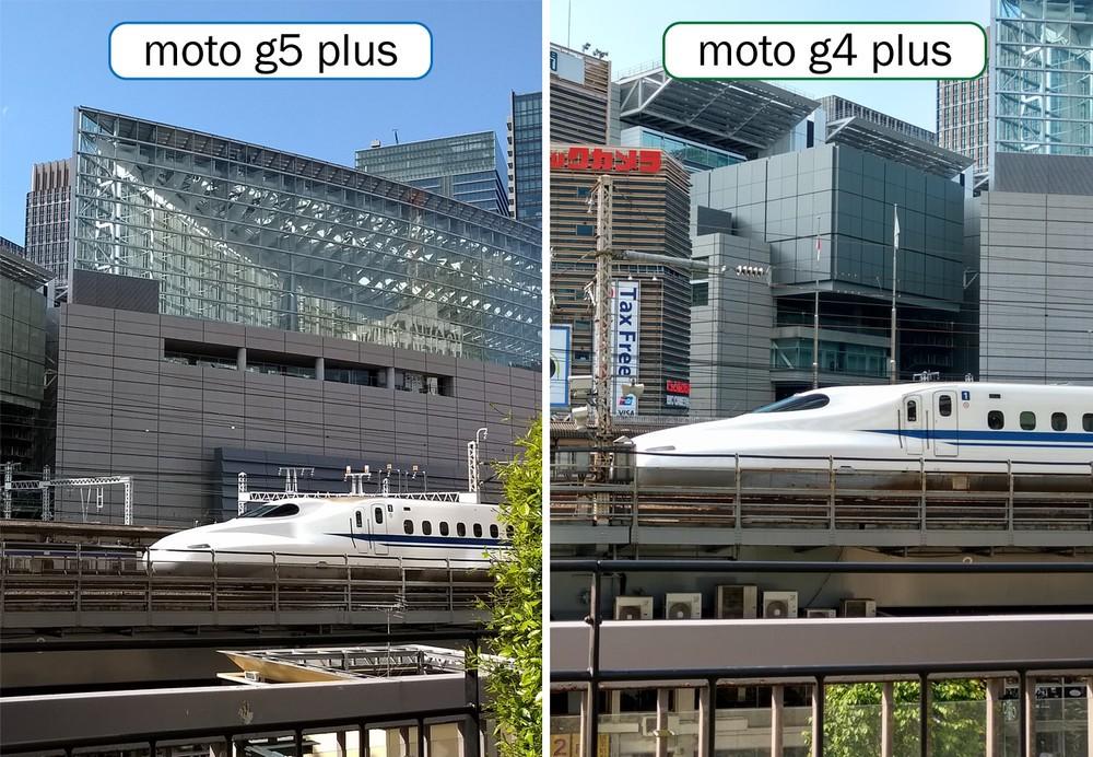 カメラ機能比較その4「動く乗り物」