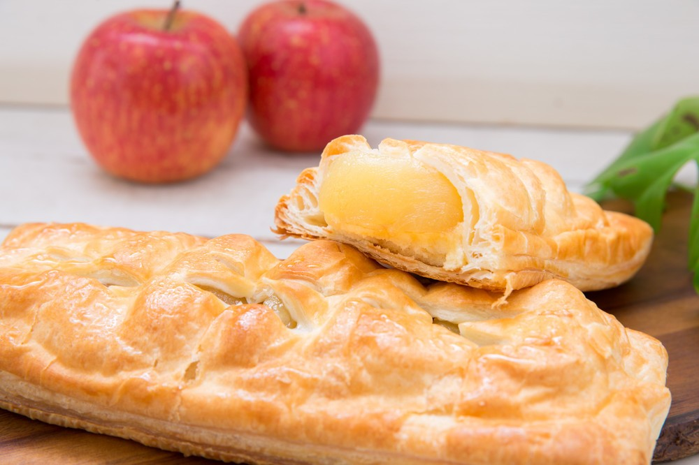 地元の信州産りんごだけをじっくり煮詰めた「アップルパイ APPLE LAB」
