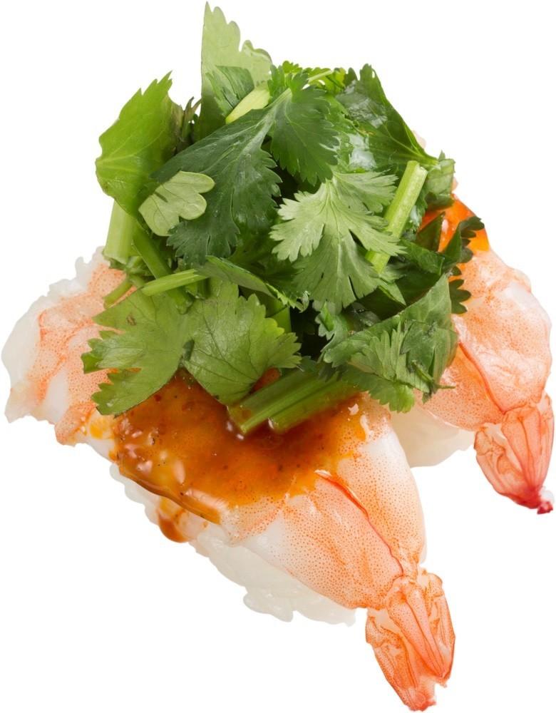 あの「パクチー寿司」が再び! パクチニスト必見の変わり種、スシローに登場