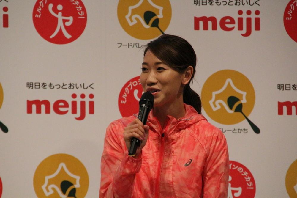 福島千里、東京五輪の鍵は「ミルクプロテイン」? アスリート注目の栄養素