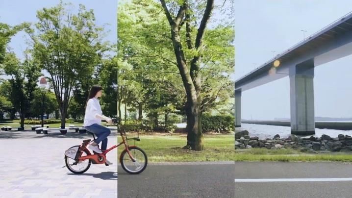 ここ本当に23区!? 発見と爽快感満点のWEBムービー「東京みどりみち」