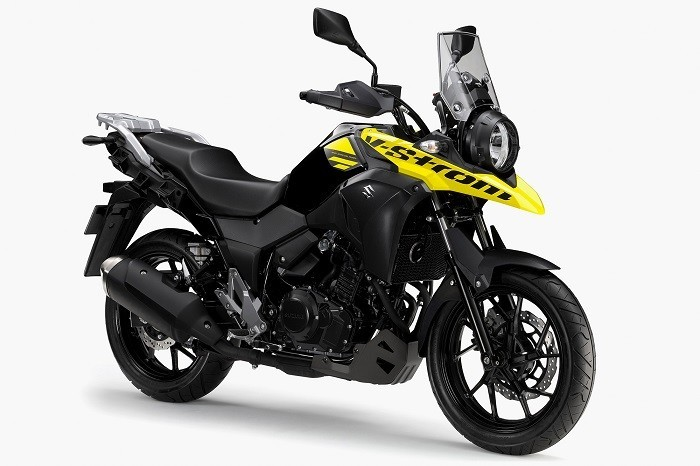 力強いスポーツアドベンチャーツアラーの250cc新型モデル「V-Strom 250」