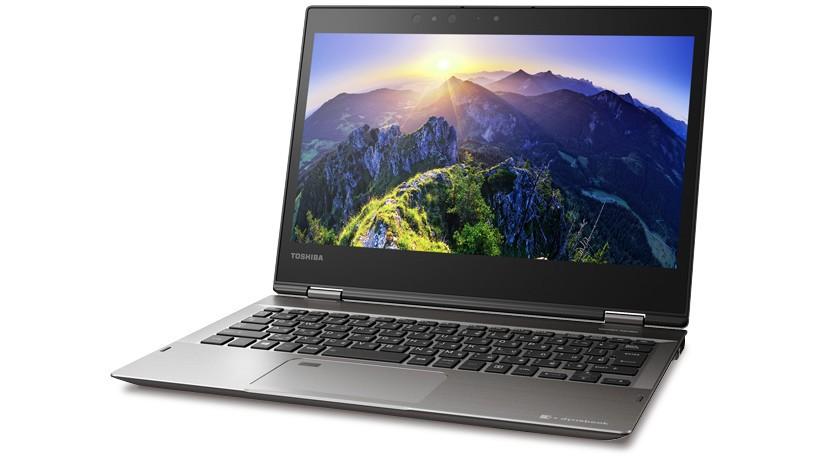 ディスプレイを折り返せばタブレットになる「2in1」ノートPC「dynabook V」