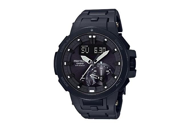 【都会派も満足のデザイン】アウトドア腕時計「プロトレック」 黒×白の新モデル登場