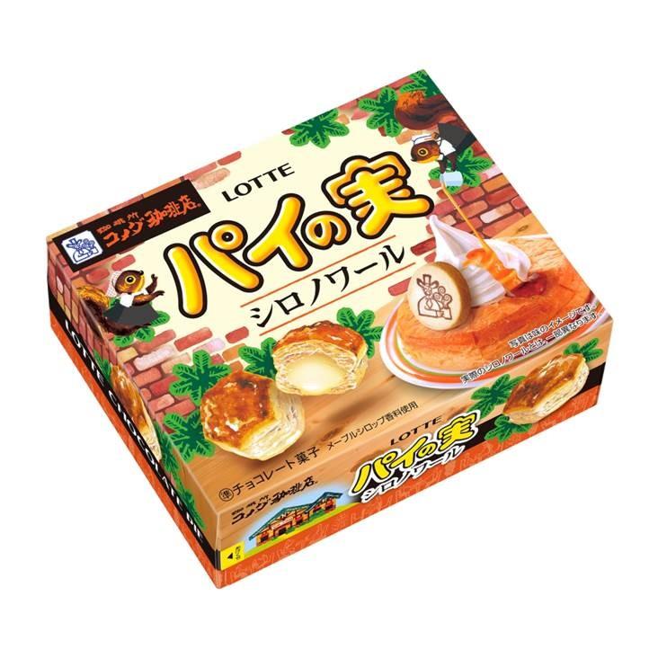 【朗報】パイの実にコメダ珈琲監修の「シロノワール」味