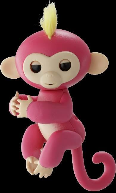 サルの赤ちゃんみたいな小型電子ペット「ハグミン」 リアルなリアクションに癒される~