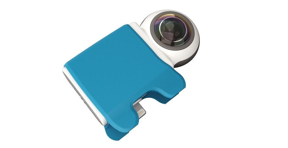 瞬時に4K写真や2K動画撮影 ライブストリーミングできる360度カメラ