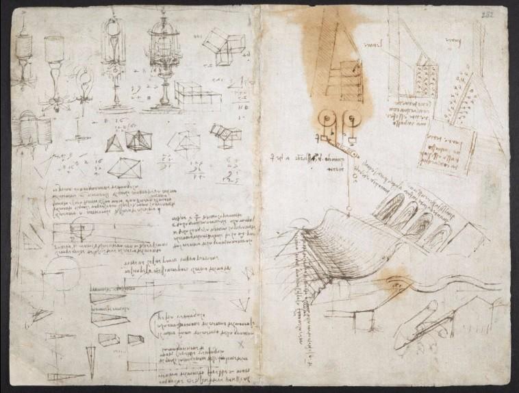 「レオナルド・ダ・ヴィンチ」の手記が、タダで!? 大英図書館、ネットで無料公開