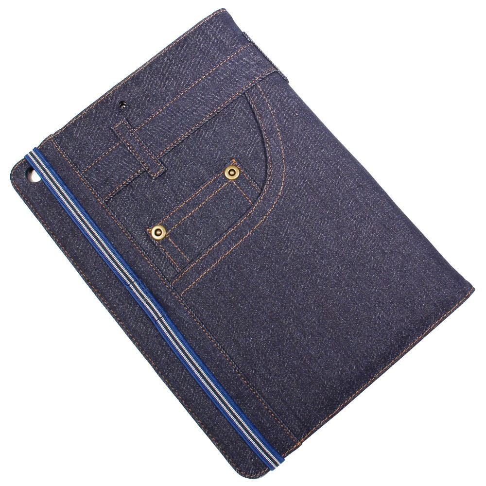 目立ち度UP! リアルなジーンズデザインのiPad(9.7型)ケース