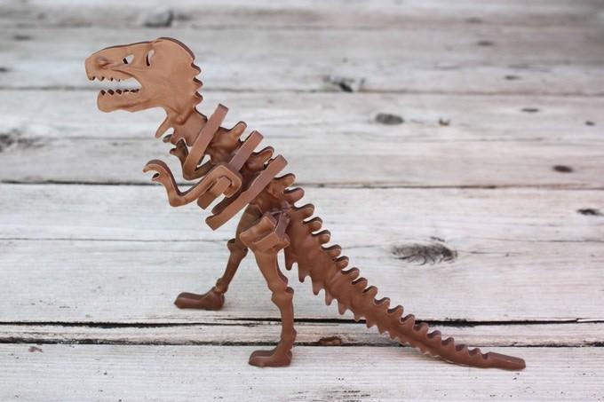 リアルな3Dティラノサウルスが完成!
