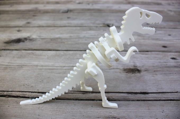 ホワイトティラノサウルスもかっこいい!