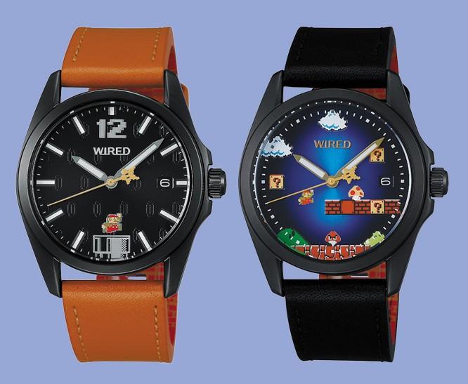 【1-1面】「スーパーマリオ」コラボの腕時計2モデル 数量限定で発売