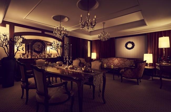 ゴージャスでちょっぴりホラー「大人のハロウィンスイート」プラン リーガロイヤルホテル