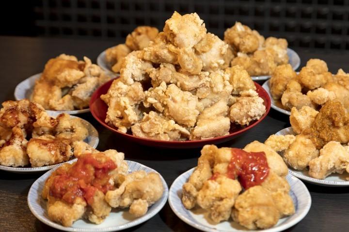 橋本マナミのソースをたっぷりつけて... 「週プレ酒場」でから揚げ食べ放題777円