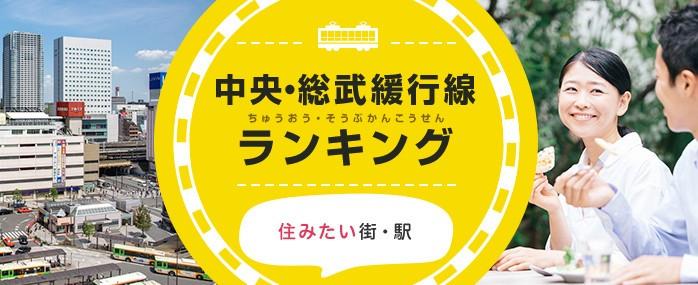 JR中央・総武線「住みたい駅」「流行りそうな駅」ランキング 千葉県が上位を席巻!