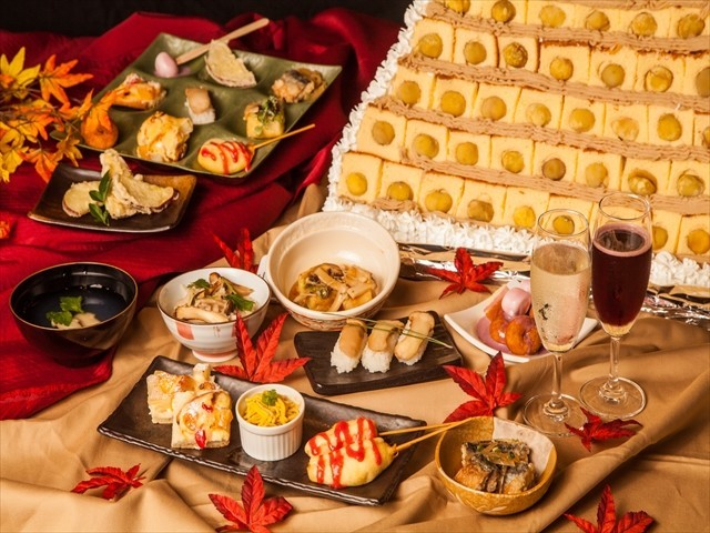 【まじか】マツタケが1890円で食べ放題! 東京・上野の和食ビュッフェで祭り