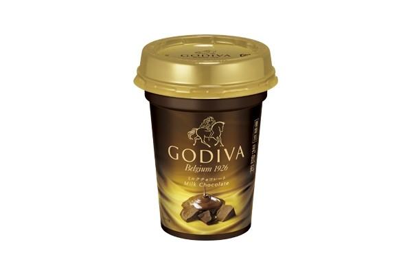 「GODIVA」のチョコレートドリンクが身近に! コンビニ限定でチルドカップ販売
