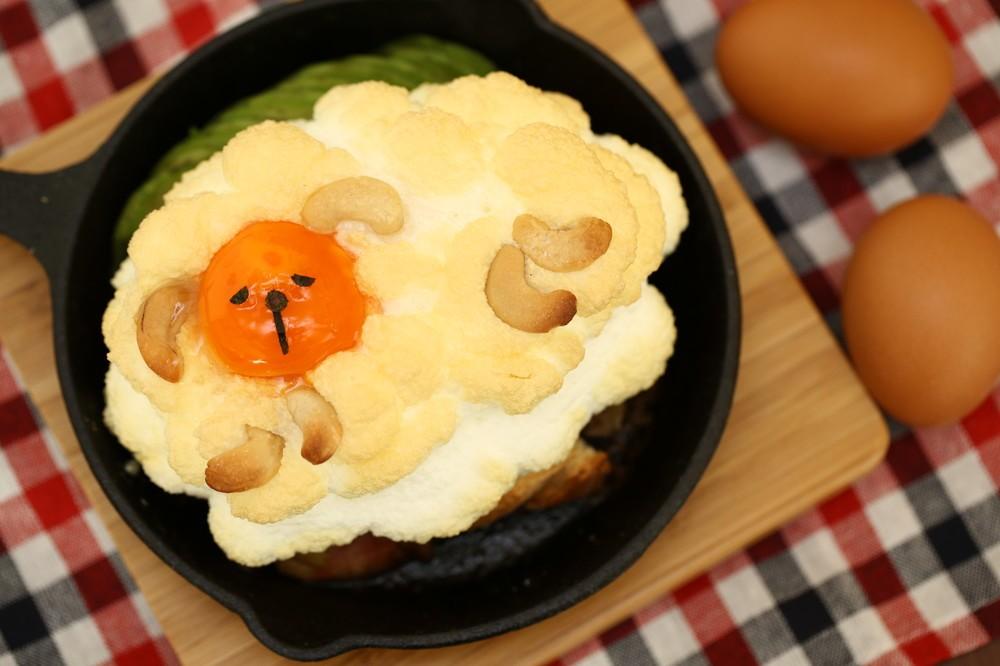 ヒツジさんかな? 秋田のたまご専門店が作る「もこもこ料理」がかわいすぎる件