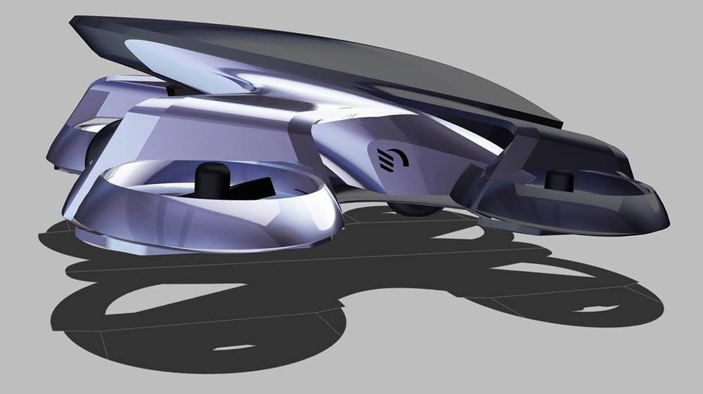 空飛ぶクルマ「SkyDrive」 完成イメージ公開
