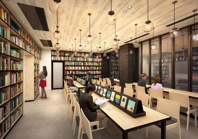 本好きにはたまらない 読書にこだわった「ランプライトブックスホテル」名古屋に開業