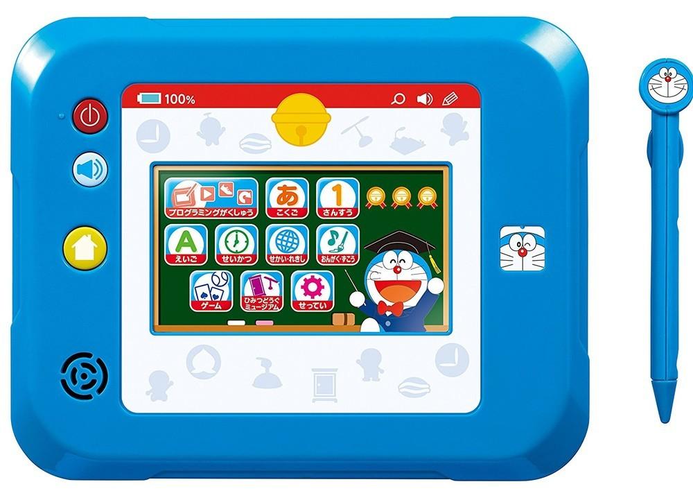 「ドラえもん」たちともに楽しくプログラミング学習 タブレット型の知育玩具
