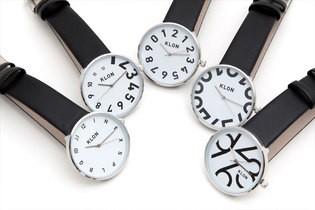 個性的でおしゃれな文字盤 男をあげる腕時計「KLON」第2弾発売