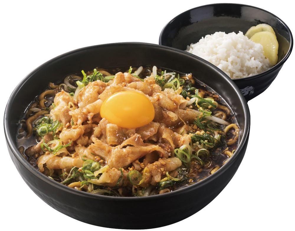 総重量は1.2キロ...「すた丼」「ラーメン」の最強コラボ 「肉盛りすたみな麺」が全国発売