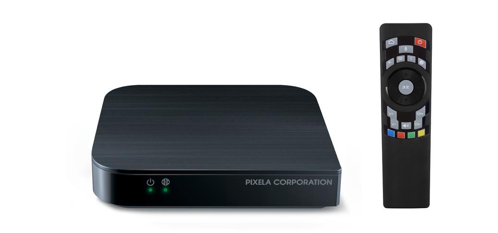 「Android TV」対応セットトップボックス リビングの大画面テレビで4K HDR動画やゲームなどを楽しめる