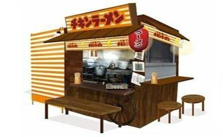 レトロな「チキンラーメン屋台」が新宿にオープン シメに1杯、いかが?