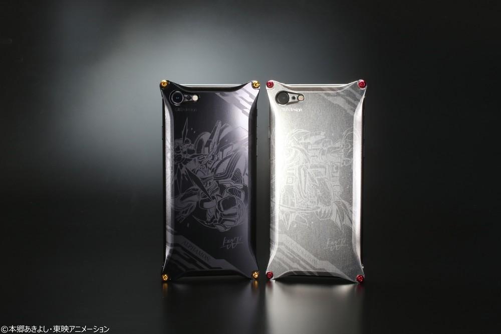「デジモン」20周年記念 「GILD design」コラボのiPhone 8/7向けジュラルミンケース