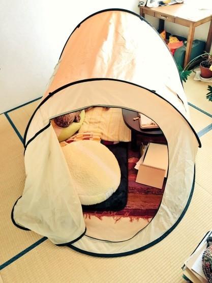 「室内テント」が密かなブーム 「人をダメにする」超快適空間