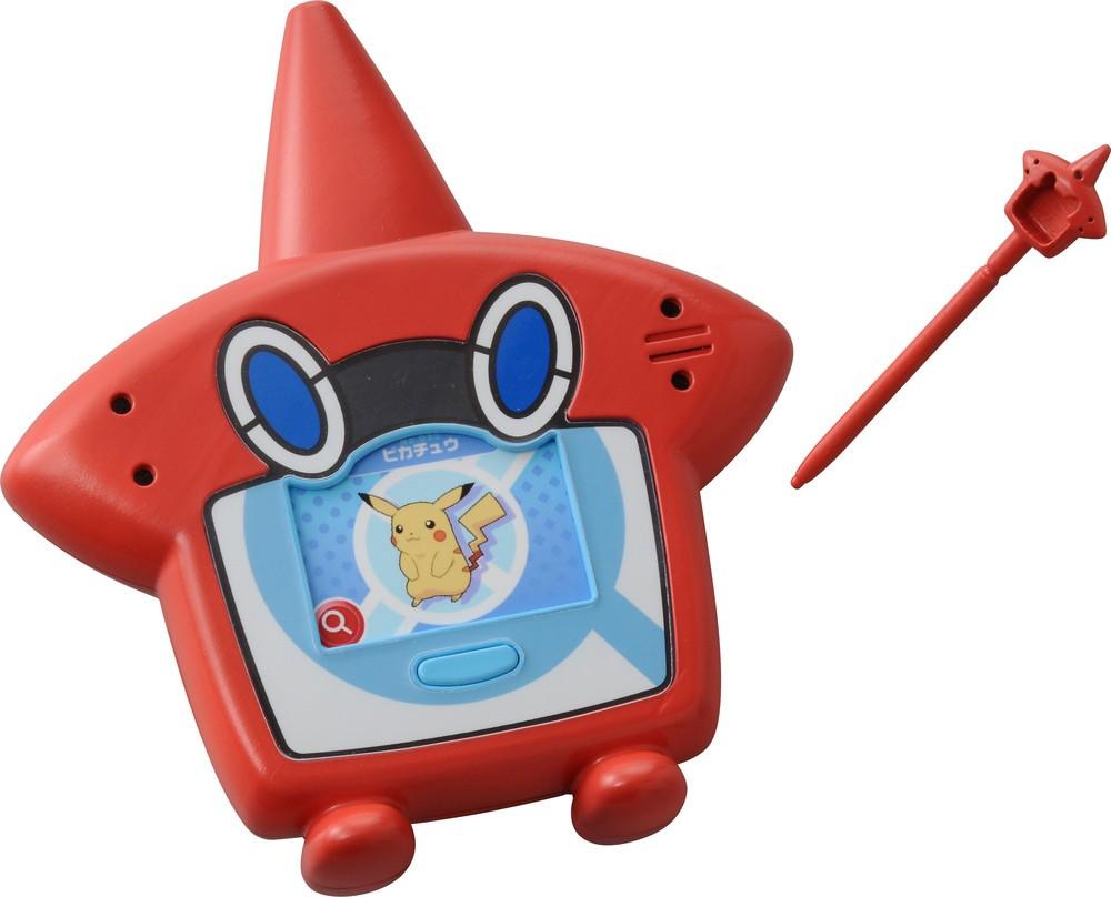 3DS「ポケモン」ウルトラサン・ウルトラムーンと連動 液晶トイ「ロトム図鑑DX」
