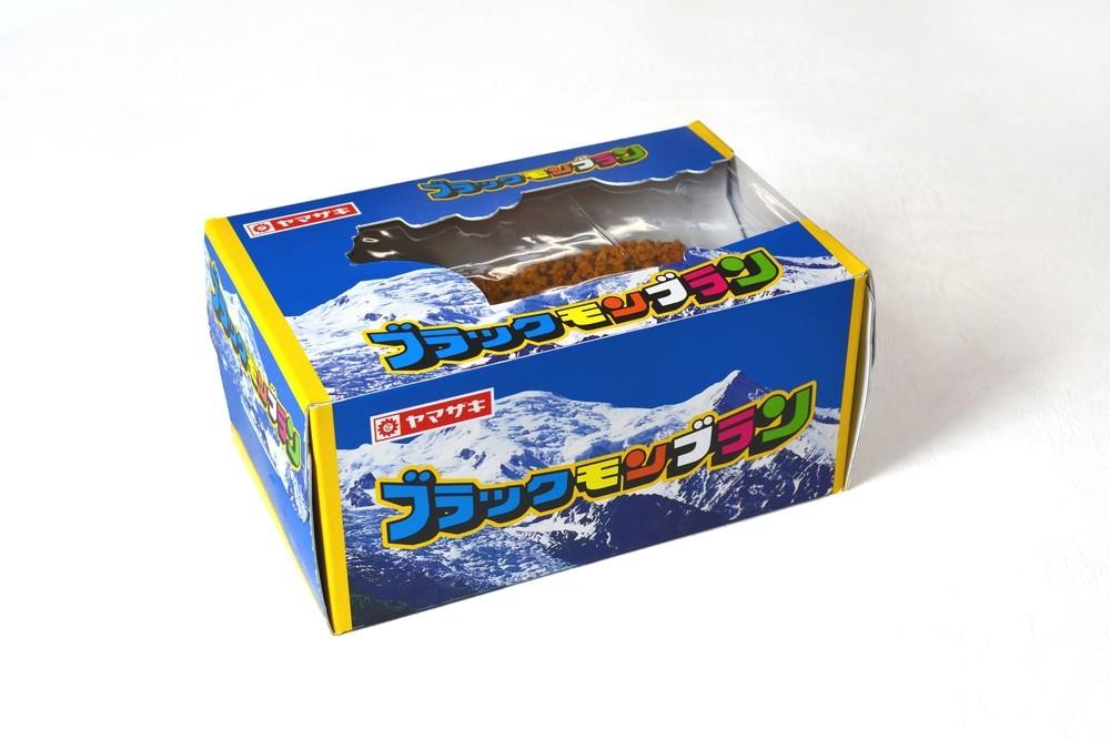 九州のソウルアイス「ブラックモンブラン」がXmasケーキに! 「これを食べずに年は越せない」