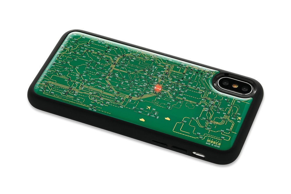 これは欲しい!「東京路線図」のiPhone Xケース 横浜、西船橋まで網羅
